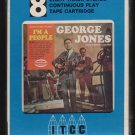 George Jones - I'm A People 1966 MUSICOR Sealed A18E 8-TRACK TAPE