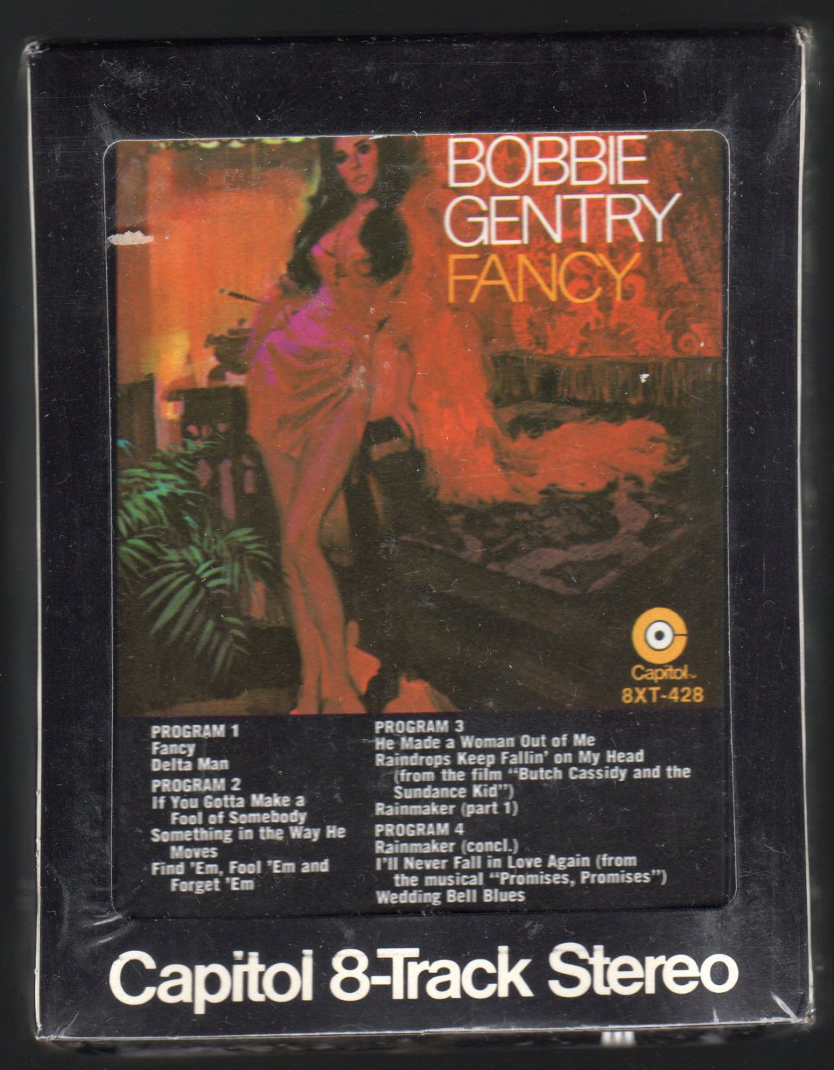 Bobbie Gentry - Fancy 1970 CAPITOL Sealed A34 8-TRACK TAPE