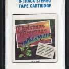 Christmas Greetings From Nashville - Various Artists 1984 CRC A18F 8-TRACK TAPE