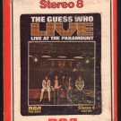 The Guess Who - Live At The Paramount 1972 RCA A49 8-TRACK TAPE
