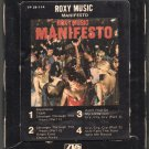 Roxy Music - Manifesto 1979 ATLANTIC A20 8-TRACK TAPE
