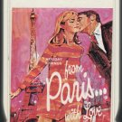 Holiday Strings - From Paris....With Love 1965 ADELL A20 8-TRACK TAPE