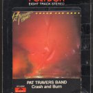 Pat Travers - Crash And Burn 1980 POLYDOR A20 8-TRACK TAPE