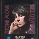 Bill Wyman - Stone Alone 1976 ATLANTIC Sealed A20 8-TRACK TAPE