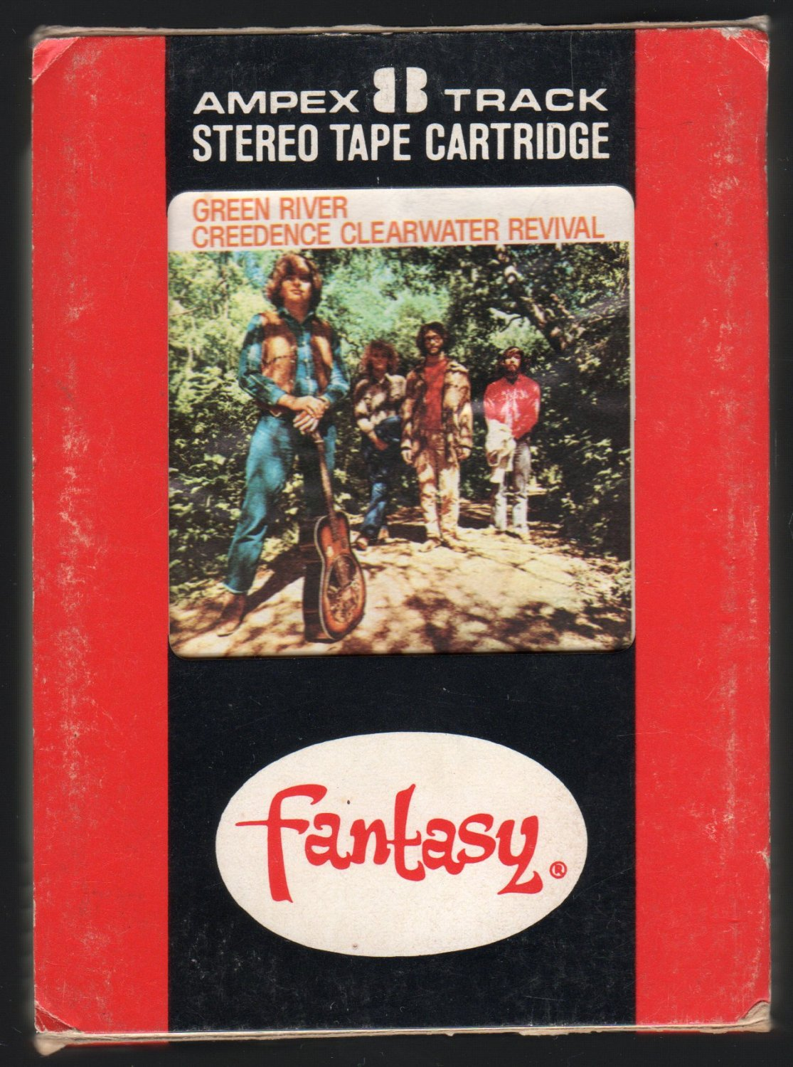 Creedence Clearwater Revival - Green River 1969 AMPEX FANTASY A43 8-TRACK TAPE