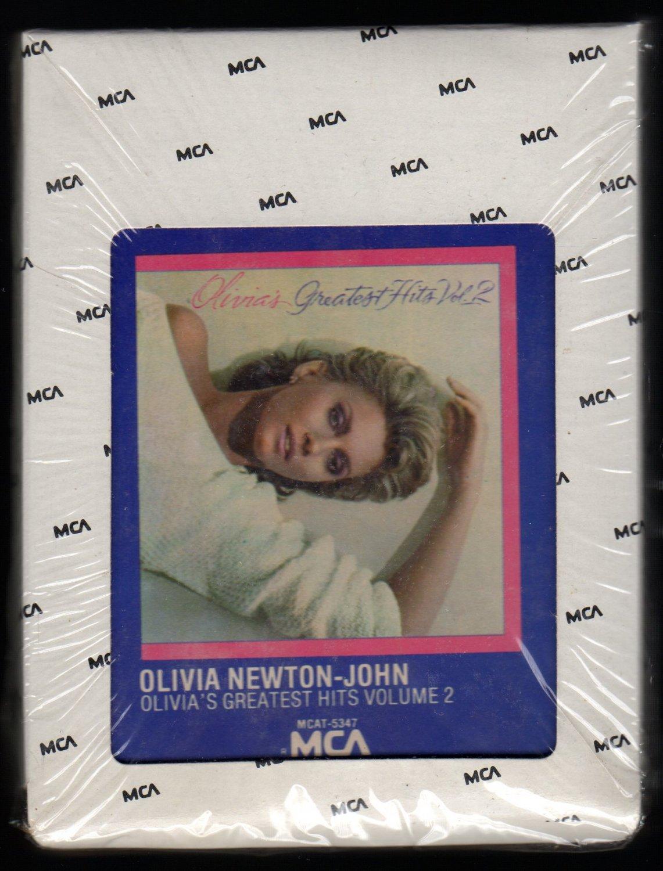 Olivia Newton-John - Olivia's Greatest Hits Volume 2 1982 MCA A44 8-TRACK TAPE
