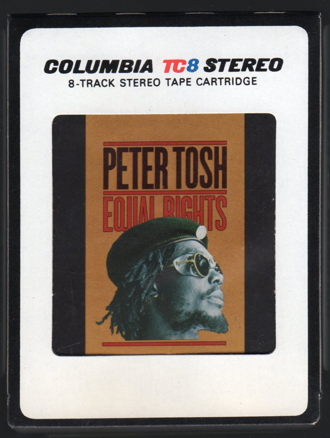 Peter Tosh - Equal Rights 1977 CBS A44 8-TRACK TAPE