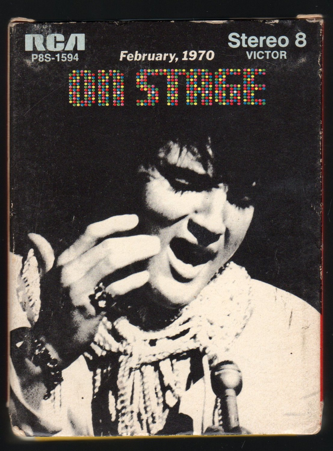 Elvis Presley - On Stage 1970 RCA A44 8-TRACK TAPE