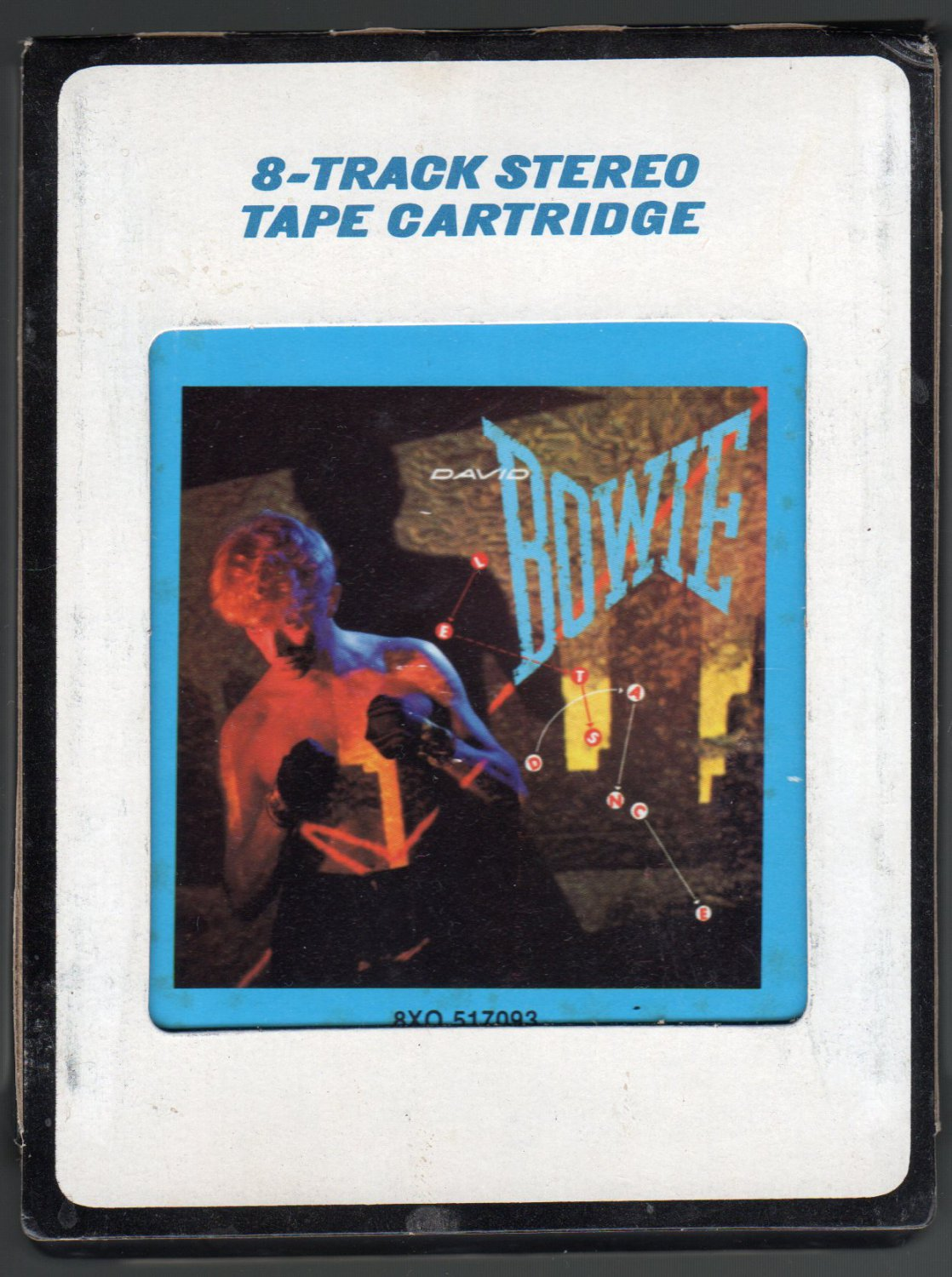 David Bowie - Let's Dance 1983 CRC A4 8-TRACK TAPE