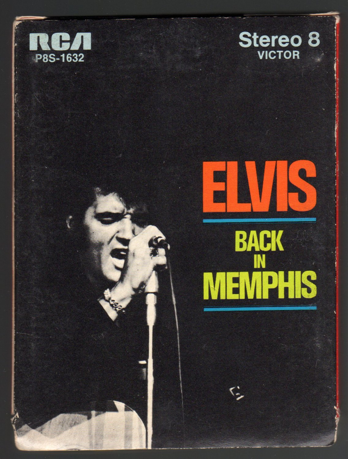 Elvis Presley - Back In Memphis 1970 RCA A4 8-TRACK TAPE