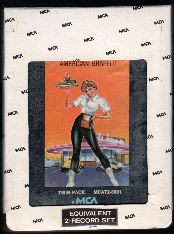 American Graffiti - 41 Original Hits Soundtrack Of American Graffiti 1973 MCA A48 8-TRACK TAPE
