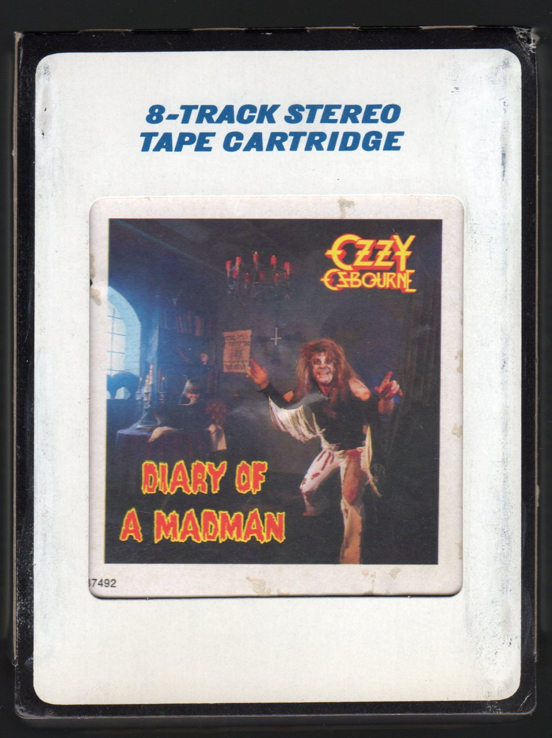Ozzy Osbourne - Diary Of A Madman 1981 CRC JET A4 8-TRACK TAPE