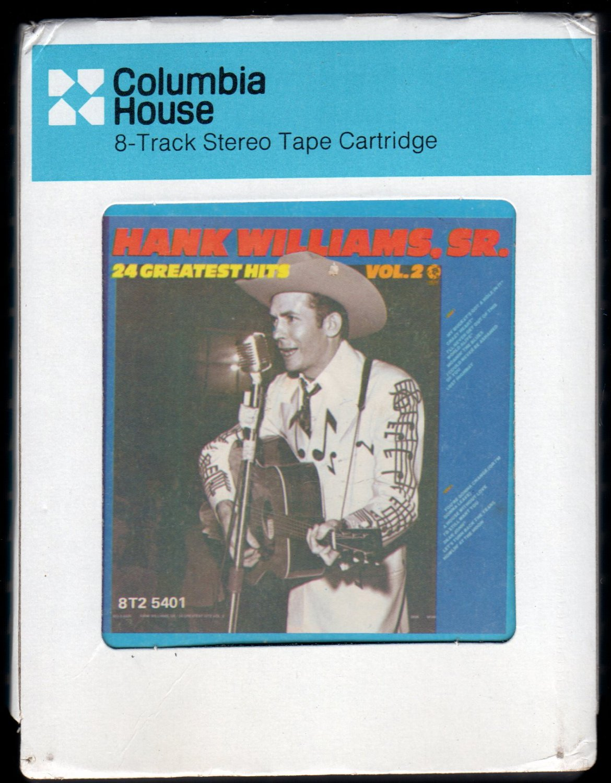 Hank Williams Sr. - Greatest Hits Vol. 2 1977 CRC A26 8-TRACK TAPE