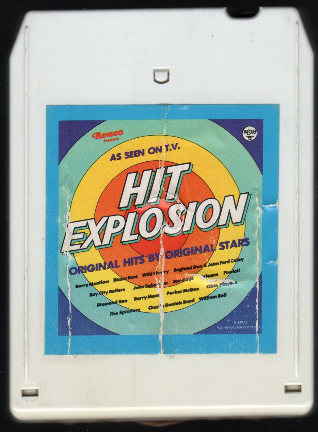 Hit Explosion - Original Hits By Original Stars 1977 RONCO A26 8-TRACK TAPE