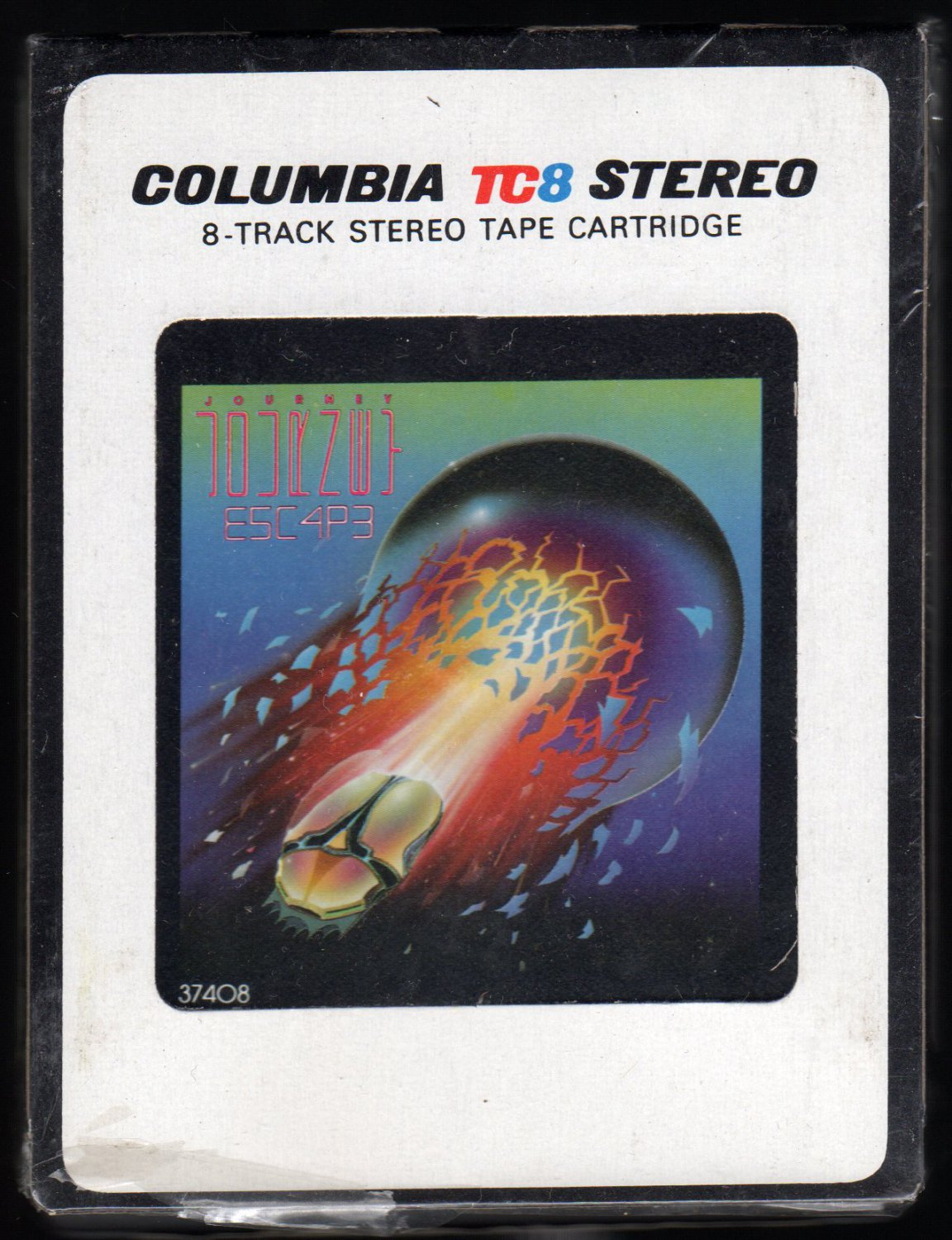 Journey - Escape 1981 CBS A19A 8-TRACK TAPE