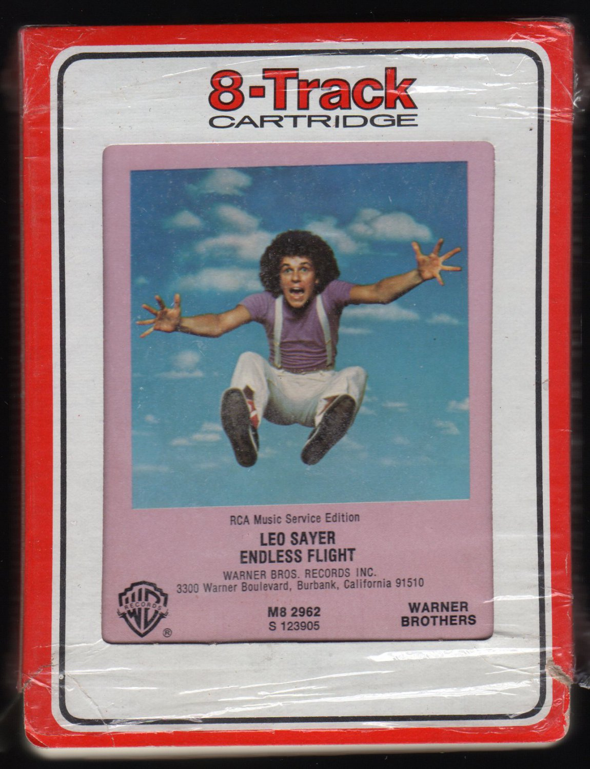 Leo Sayer - Endless Flight 1976 RCA WB A2 8-TRACK TAPE