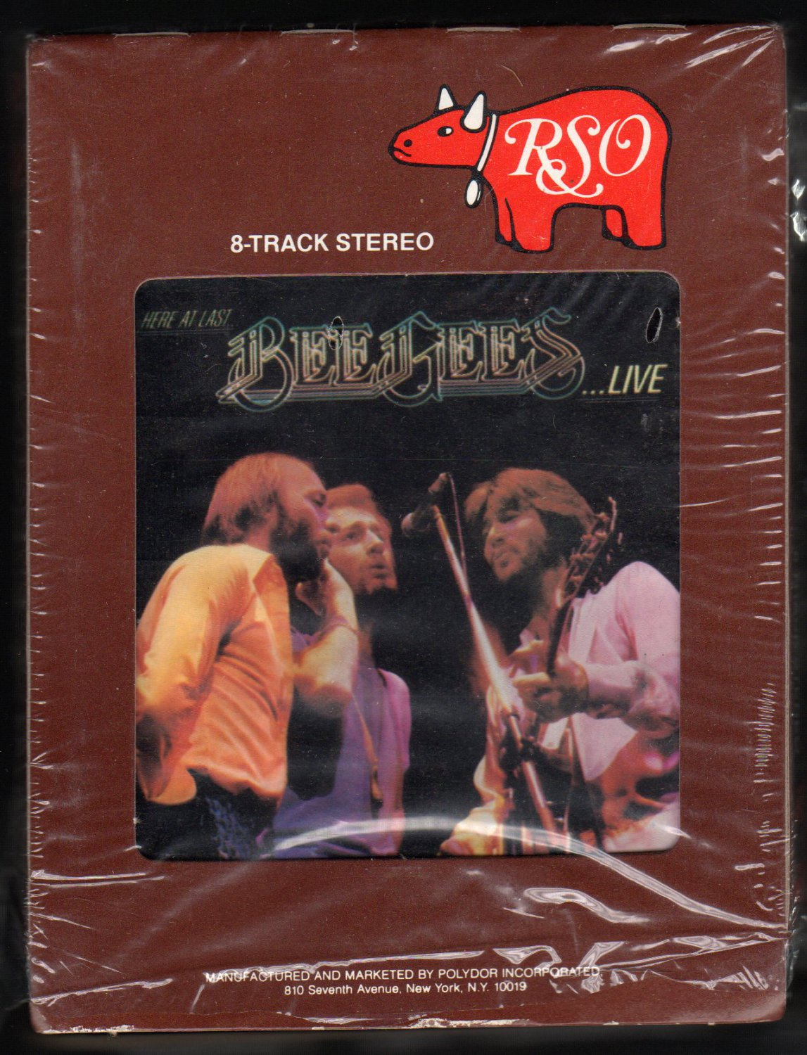 Bee Gees - Here At Last LIVE 1977 RSO A2 8-TRACK TAPE