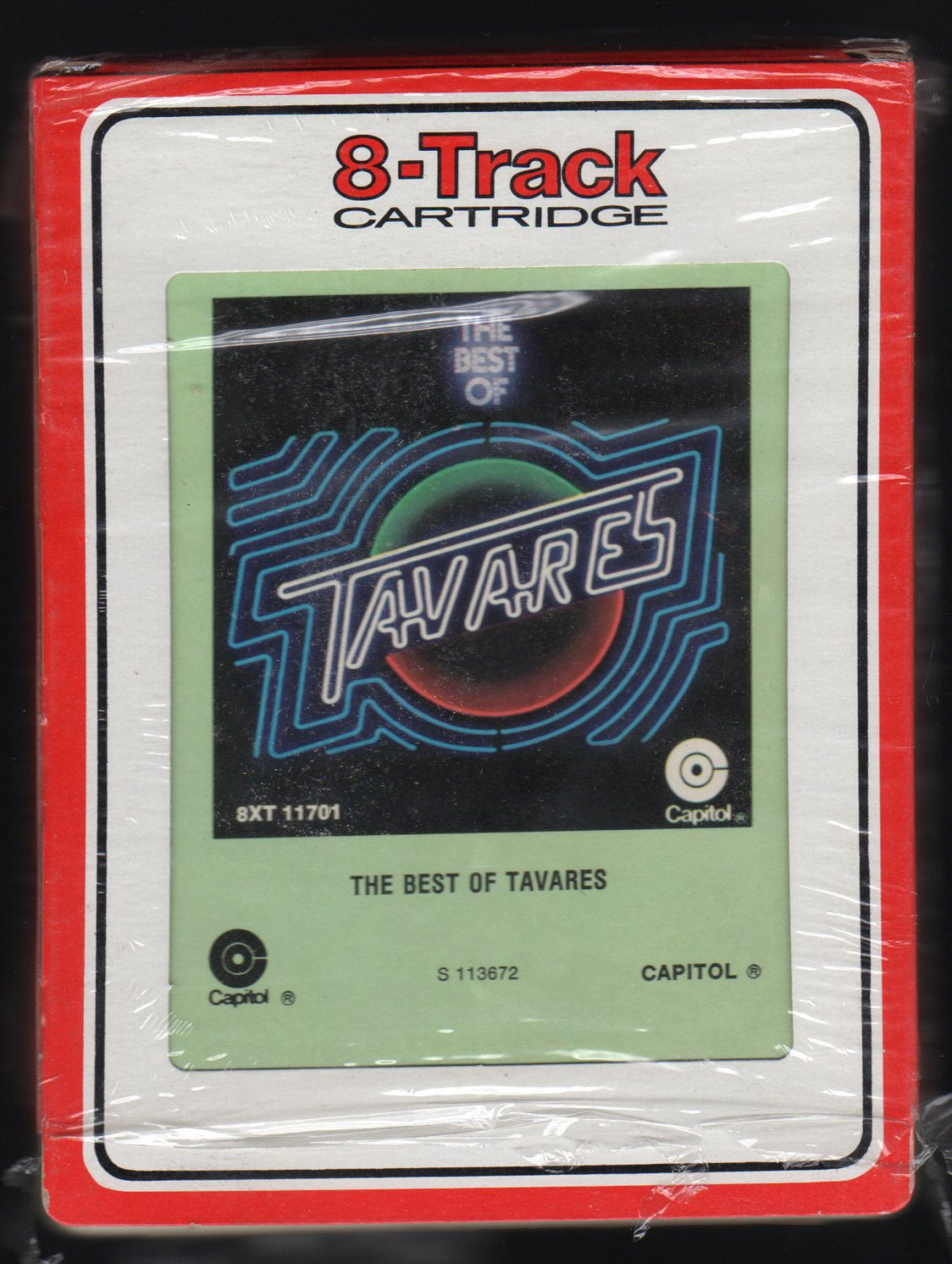 Tavares - The Best Of 1977 RCA CAPITOL A2 8-TRACK TAPE