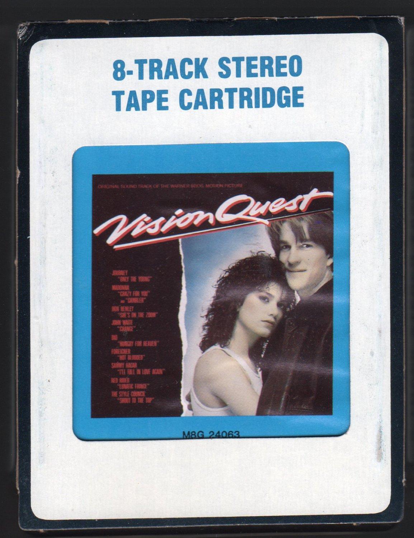 Vision Quest - Motion Picture Soundtrack 1985 CRC A42 8-TRACK TAPE