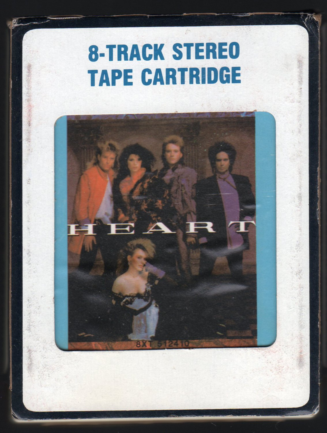 Heart - Heart 1985 CRC A7 8-TRACK TAPE
