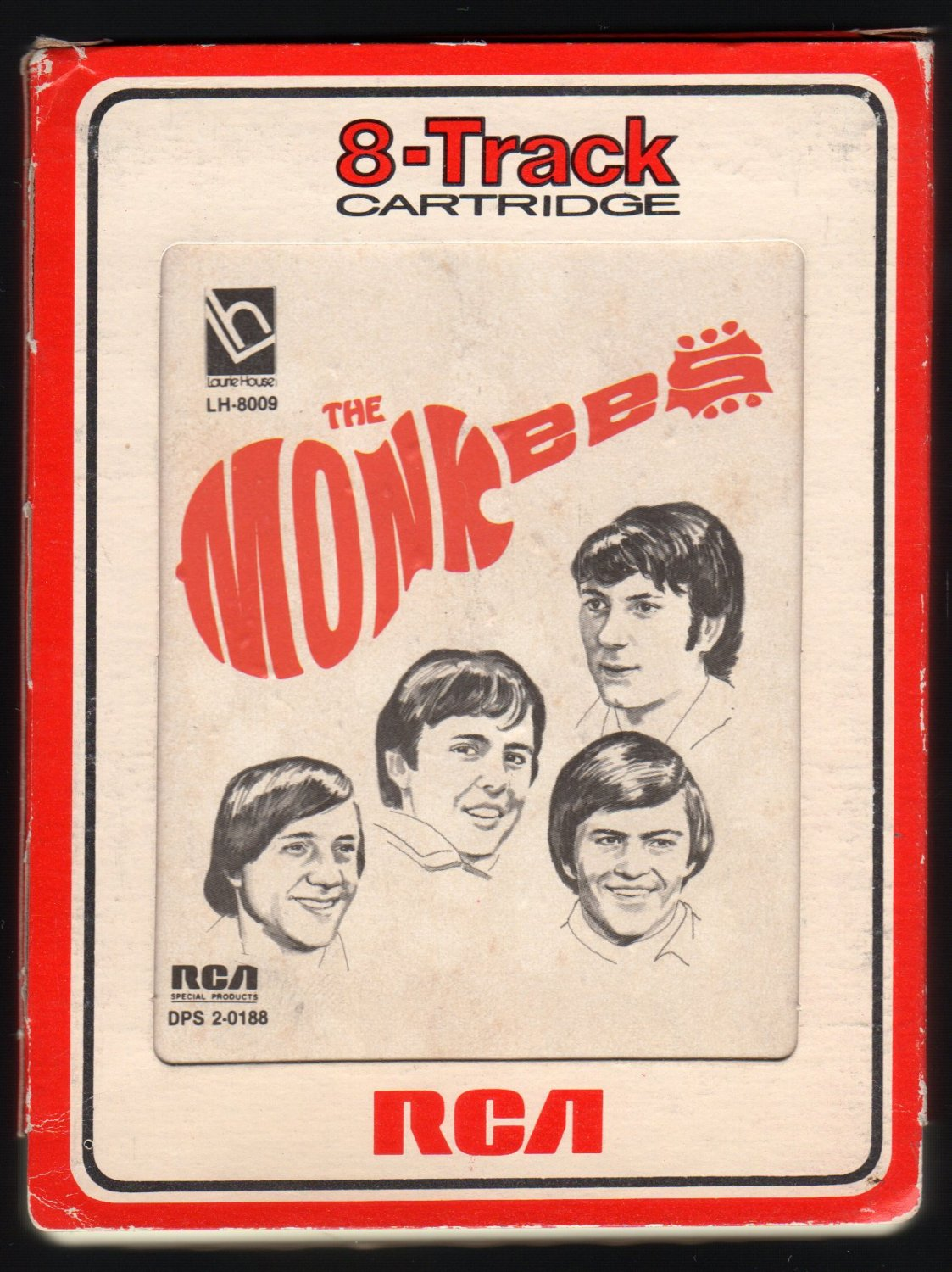 The Monkees - The Monkees 1976 RCA LH DPS2-0188 A25 8-TRACK TAPE