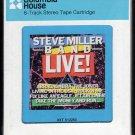 Steve Miller Band - Steve Miller Band LIVE 1983 CRC Sealed A25 8-TRACK TAPE