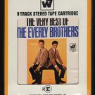 The Everly Brothers - The Very Best Of 1964 WB Re-issue Sealed A25 8-TRACK TAPE