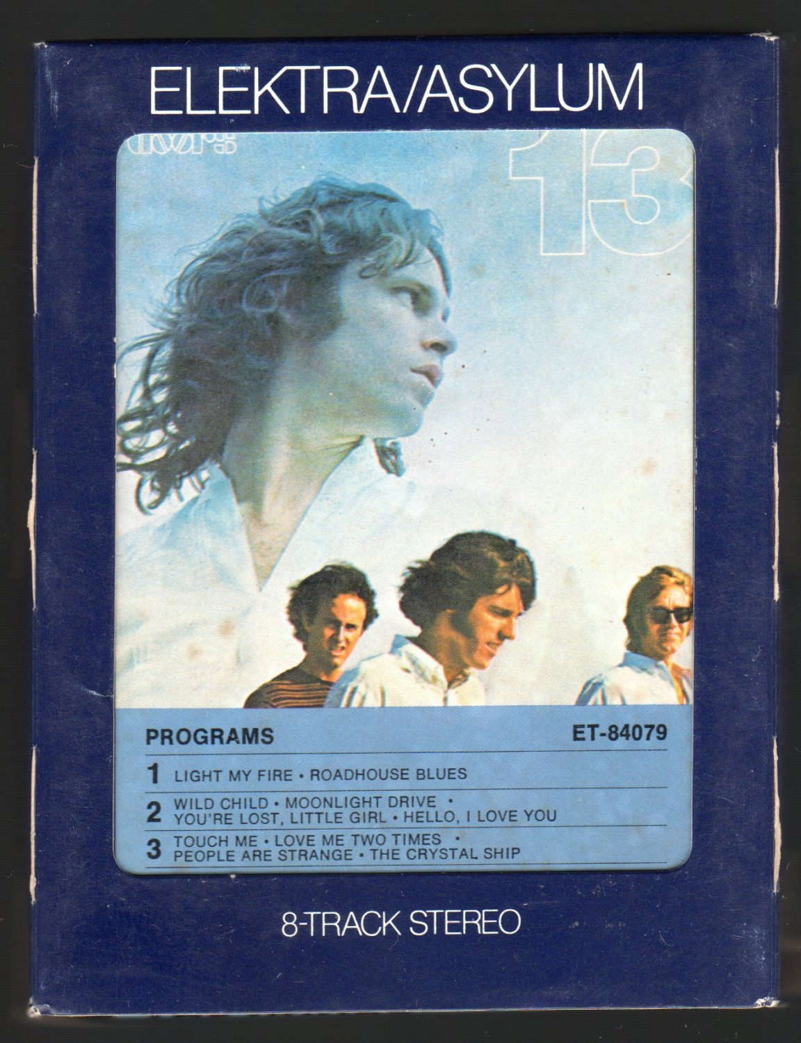 The Doors - The Doors 13 1970 ELEKTRA A45 8-TRACK TAPE