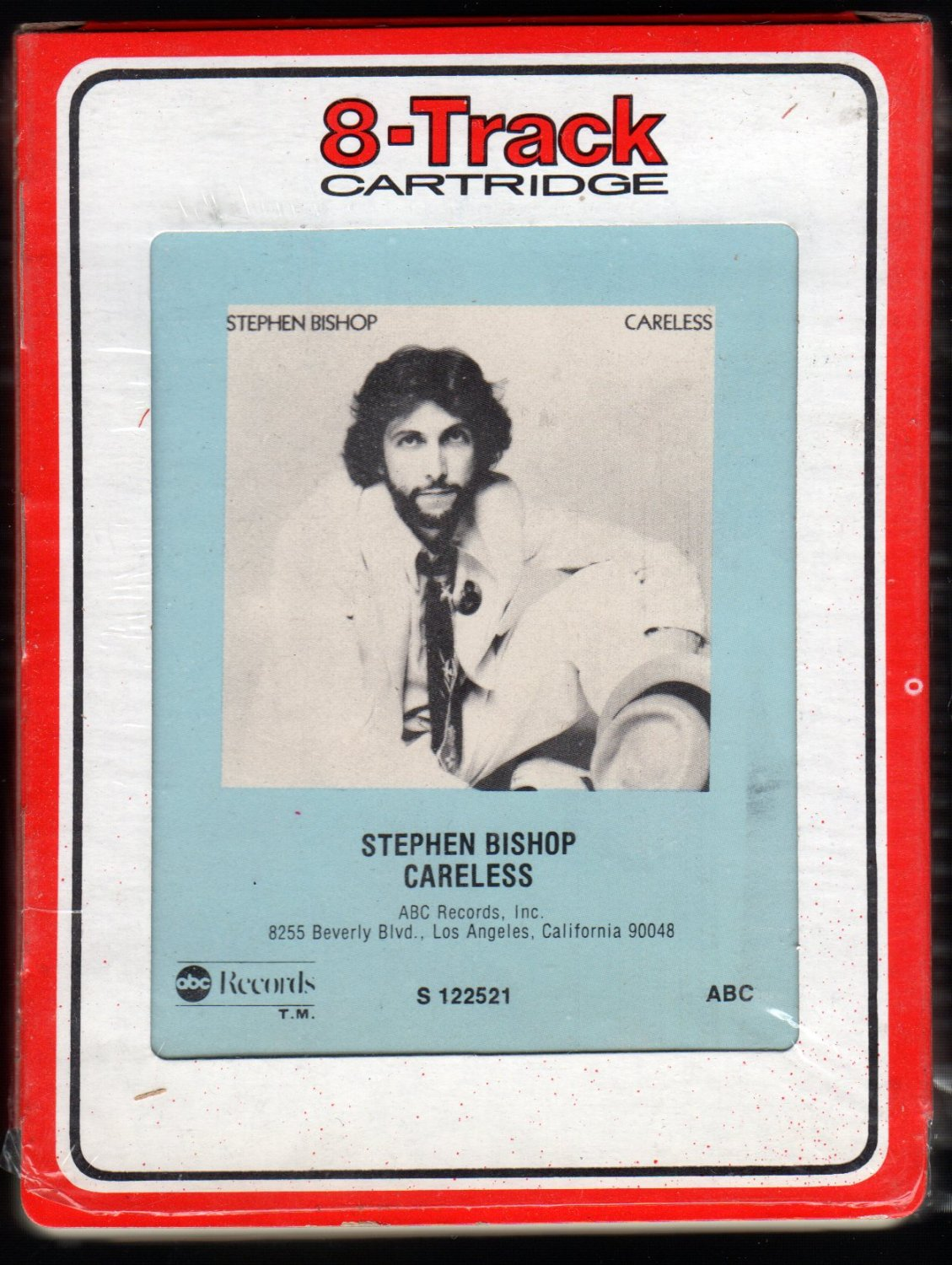 Stephen Bishop - Careless 1976 Debut RCA ABC A45 8-TRACK TAPE