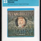 Kenny Rogers - Twenty Greatest Hits 1983 CRC Sealed A8 8-TRACK TAPE