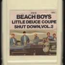 The Beach Boys - Little Deuce Coupe + Shut Down Vol 2 1965 CAPITOL A8 8-TRACK TAPE