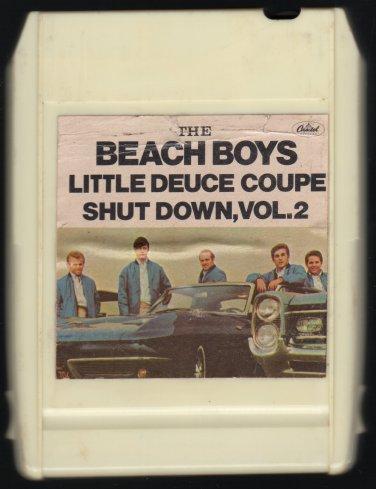 The Beach Boys - Little Deuce Coupe + Shut Down Vol 2 1965 CAPITOL A8 8-TRACK TAPE