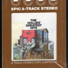 The Hollies - The Hollies' Greatest Hits 1973 EPIC A39 8-TRACK TAPE