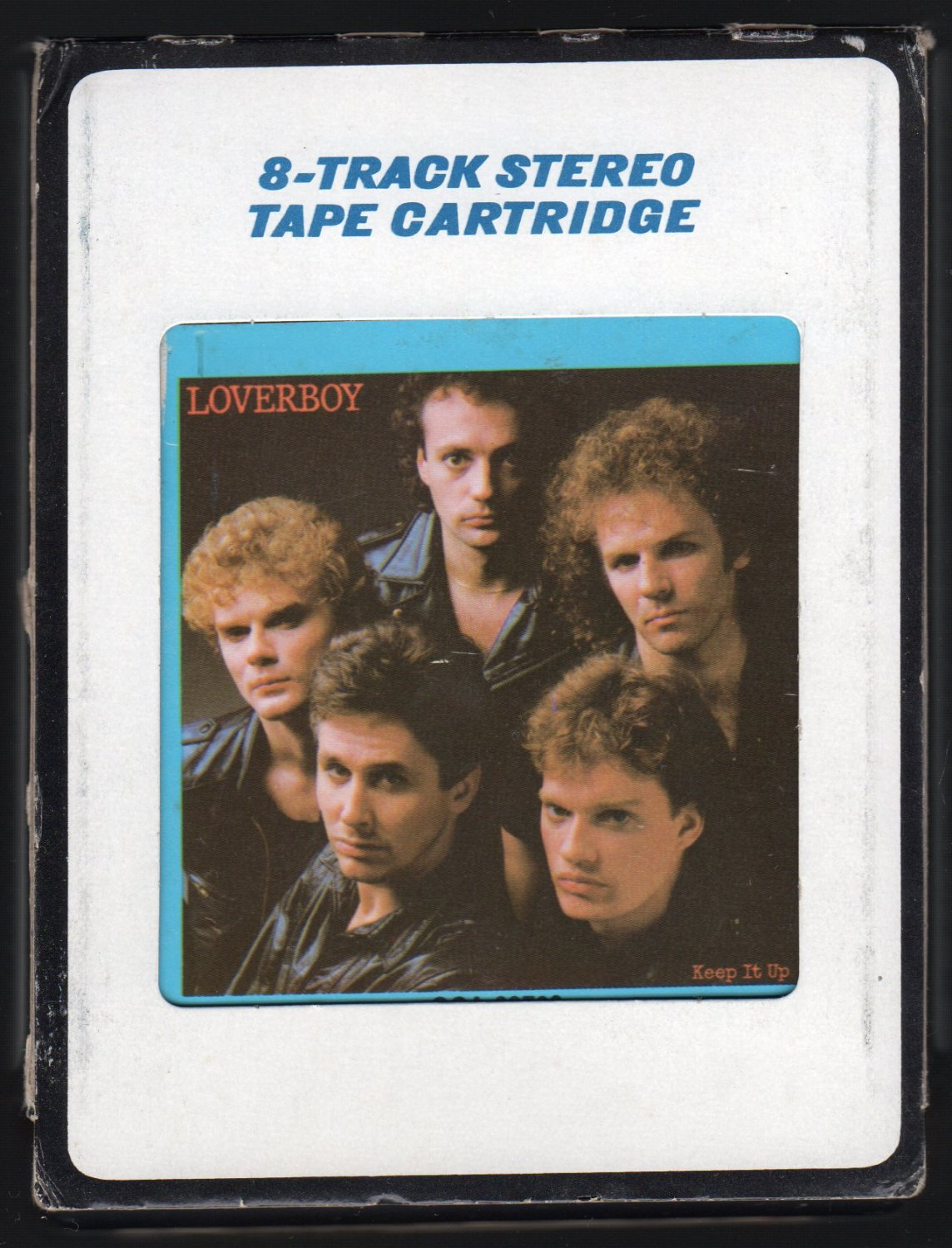 Loverboy - Keep It Up 1983 CRC CBS A21C 8-TRACK TAPE