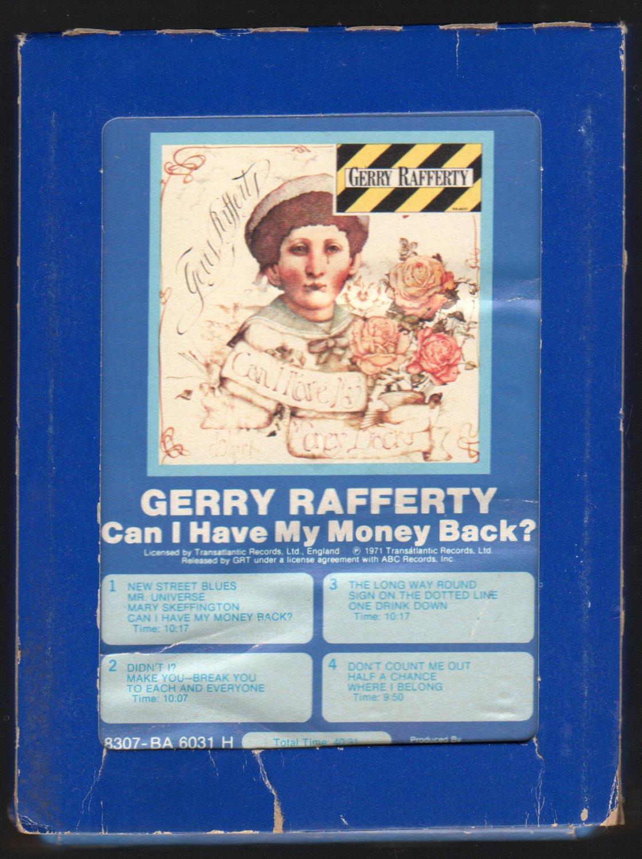 Gerry Rafferty - Can I Have My Money Back? 1971 Debut GRT TRNSATLC A21C 8-TRACK TAPE