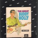 Buddy Holly with The Three Tunes - The Great Buddy Holly 1967 MCA CORAL Re-issue A21C 8-TRACK TAPE