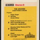 The Archies - Everything's Archie 1969 KIRSHNER A21C 8-TRACK TAPE
