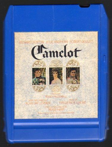 Camelot - Original Broadway Cast 1965 CBS A21C 8-TRACK TAPE