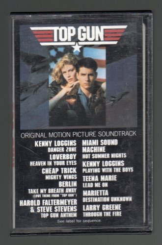 Top Gun - Original Soundtrack 1986 CBS C8 CASSETTE TAPE