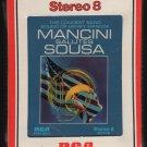 Henry Mancini - Mancini Salutes Sousa 1973 RCA Sealed AC5 8-TRACK TAPE