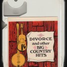 DIVORCE and other Big Country Hits SPAR 1035 Sealed A18A 8-TRACK TAPE