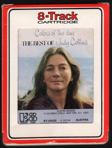Judy Collins - Colors Of The Day The Best Of 1972 RCA ELEKTRA A41 8-TRACK TAPE