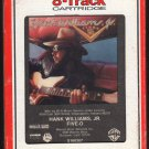 Hank Williams Jr - Five-O 1985 RCA WB A33 8-TRACK TAPE
