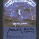 Metallica - Ride The Lightning 1984 ELEKTRA C8 CASSETTE TAPE