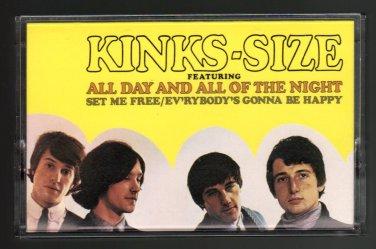 The Kinks - Kinks-Size 1988 RHINO C8 CASSETTE TAPE
