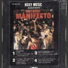 Roxy Music - Manifesto 1979 ATLANTIC Sealed A19C 8-TRACK TAPE