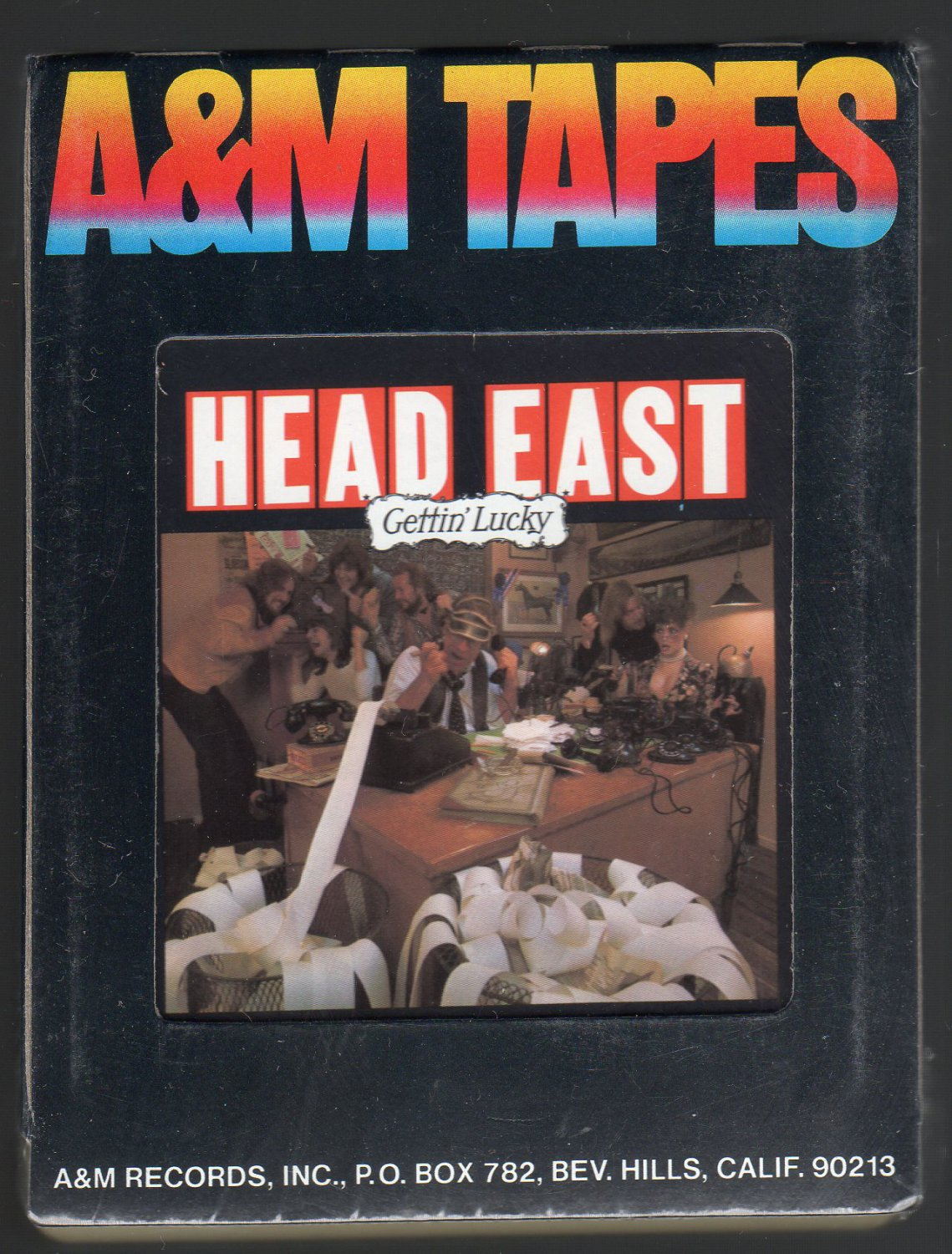 Head East - Gettin' Lucky 1977 A&M Sealed A21A 8-TRACK TAPE