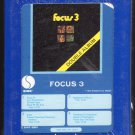 Focus - Focus 3 1972 GRT SIRE Sealed A17C 8-TRACK TAPE