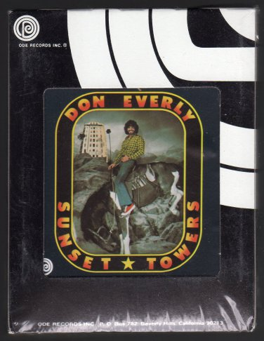 Don Everly - Sunset Towers 1974 ODE Sealed A16 8-TRACK TAPE