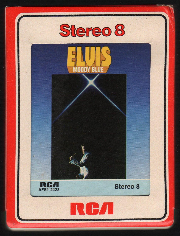 Elvis Presley - Moody Blue 1977 RCA A12 8-TRACK TAPE